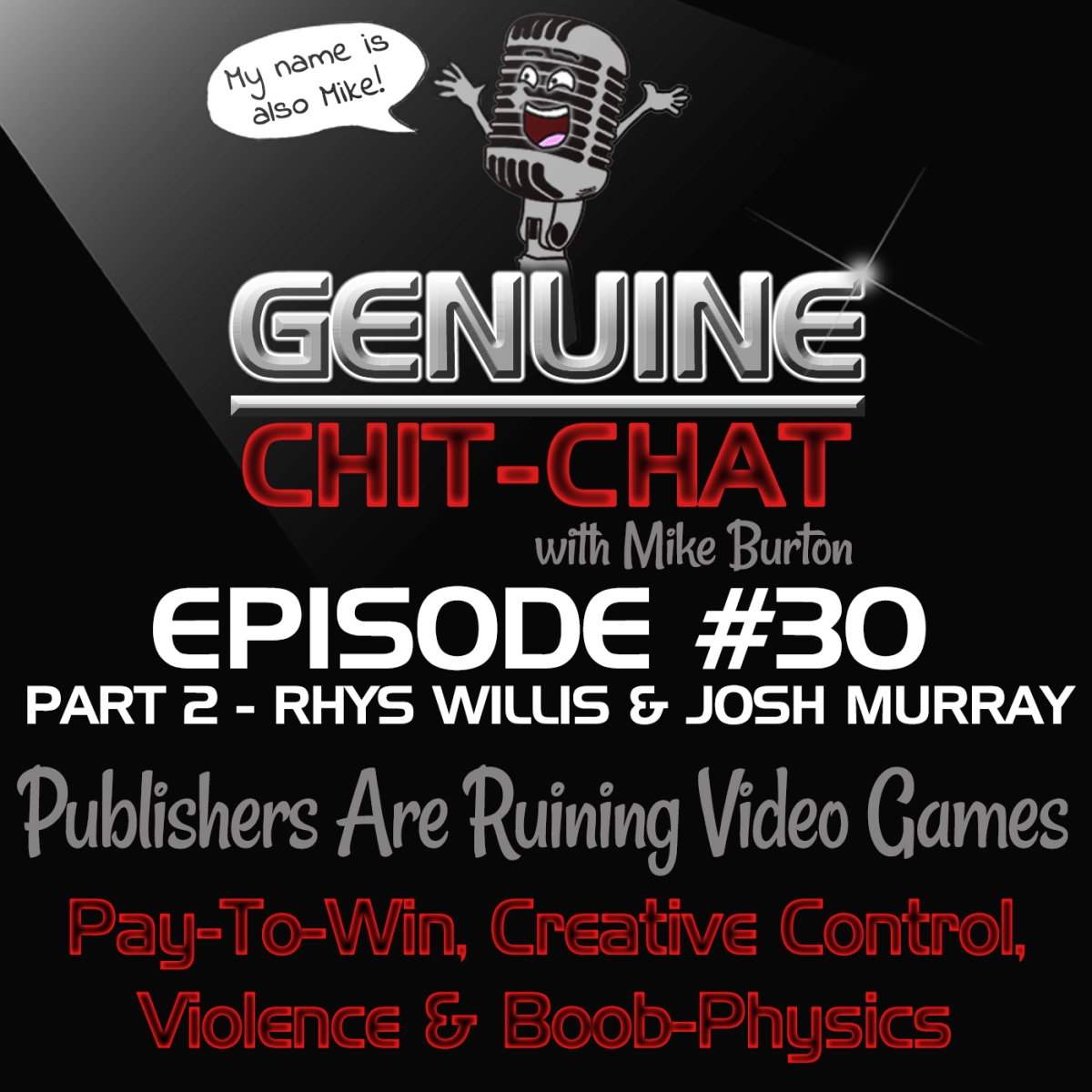 Publishers Are Ruining Video Games: Pay-To-Win, Creative Control, Violence & Boob-Physics – GCC #30 Part 2 with Rhys Willis & JoshMurray